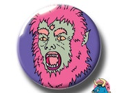 Wolfman Badge Werewolf Pin Horror Pin Badge Spooky Pin Pinback Badge Scary Gift For Boys Teen wolf American Werewolf Halloween Gift