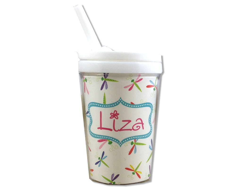 Personalized sippy cup kids cups with straw personalized kids - Cups and kids ...