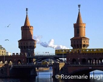 Oberbaumbrücke Bridge - Original Fine Art Photograph - Bridge in Germany