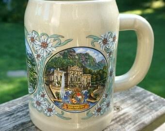 Beautiful Vintage Ruhn Bavaria German Stein
