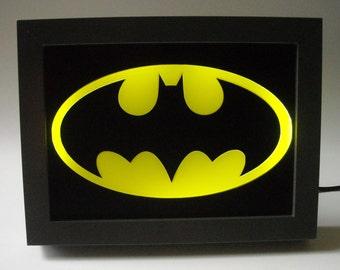 352 - Batman Night Light Desk Lamp Kid's Room Decor