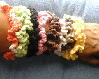 Candy for your Hair - Handmade cotton scrunchies, ponytail holder