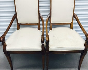 Vintage Hellam Furniture Dining Room Chairs (6)