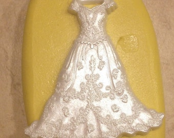Small Wedding Bride Dress Silicone
