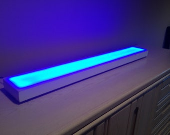 4ft Modern LED Light Shelf Liquor Shelves Bottle Shelves Bar Display