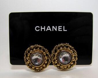 Coco chanel earrings | Etsy