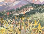 Montana Wildflowers - Original painting