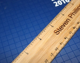 Personalized 12 Inch Ruler With Name or other Text