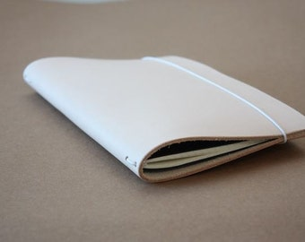 Large Moleskine Leather Notebook Cover