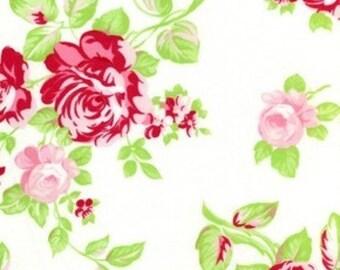 Tanya Whelan Darla _ Darla Rose in Fuschia TW21, OOP VHTF Free Spirit Fabric Fat Quarter