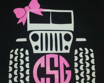 Jeep T-shirt with monogram