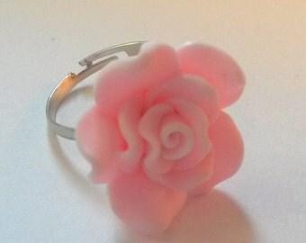 Pink flower ring!
