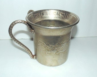Vintage Judaica Hand Washing Cup Netilat Yadaim Cup