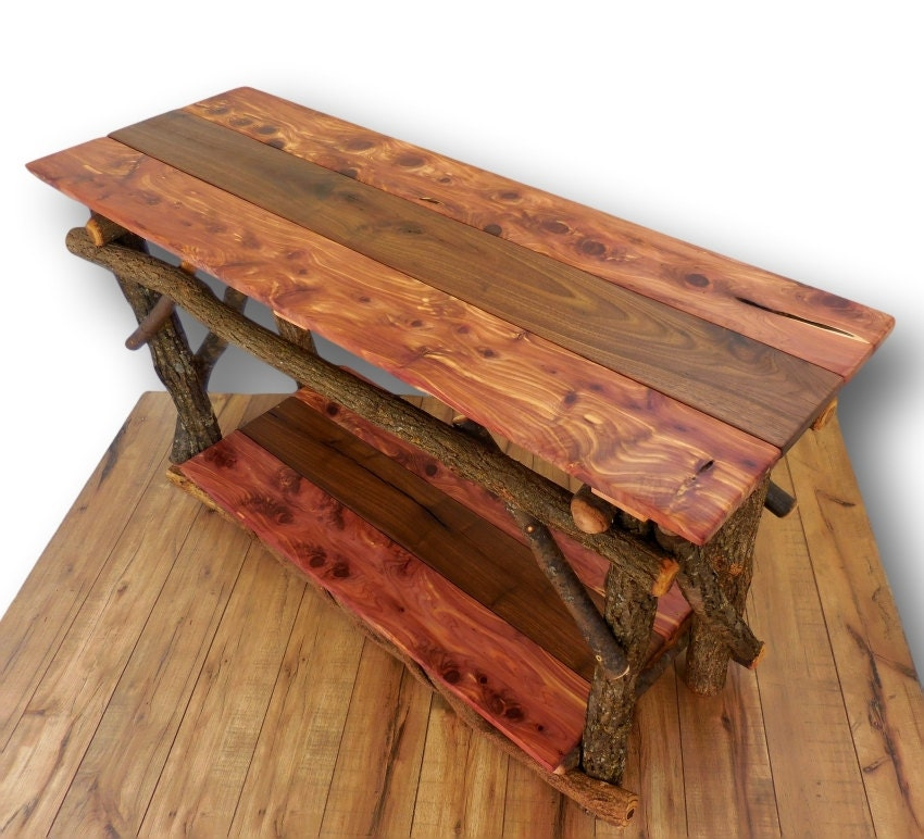 Reclaimed Wood Sofa Table Entryway Table Reclaimed Wood