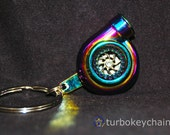 KCT-11BB2 REAL SOUND Turbo Charger Keychain Keyring