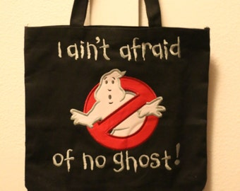 Ghostbuster treat bag