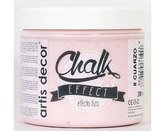 Pink paint matt Chalk Effect by Artis Decor (200ml) - Quartz