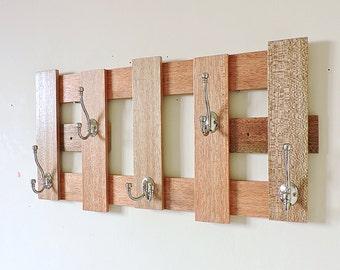 Coat rack, modern coat rack, entryway organizer, clothes storage, coat hooks, family coat rack, coat rack wall mount, large coat rack