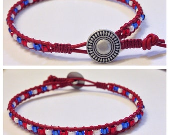 Single Wrap Ankle Bracelet