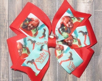Pippi Longstocking Hairbow / Pippi Longstocking Bow