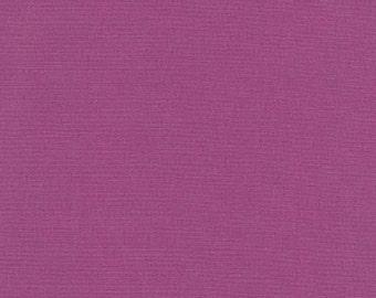 Purple Kona Cotton Fabric - Geranium by Robert Kaufman - 1/2 Yard
