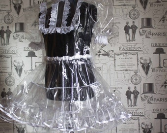 Clearly Clarissa Crystal Clear PVC Dress - Hand Crafted to Any Size
