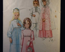 Vintage Sewing Pattern Simplicity 9601 for a Teen's Bridesmaid Dress for Age 14