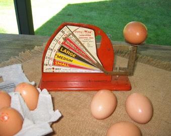 Vintage Kitchen Jiffy Way Egg Scale
