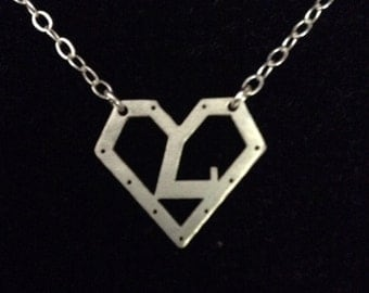 Sterling Superhero Necklace