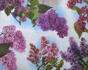 "Lilacs - Flower Tissue Paper # 307 / Gift Wrap Paper ... 10 Large Sheets .... 20"" x 30""  -  Floral, Garden"