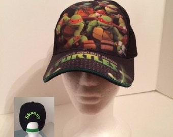 TMNT Teenage Mutant Ninja Turtles Boy's Baseball Hat - Personalized