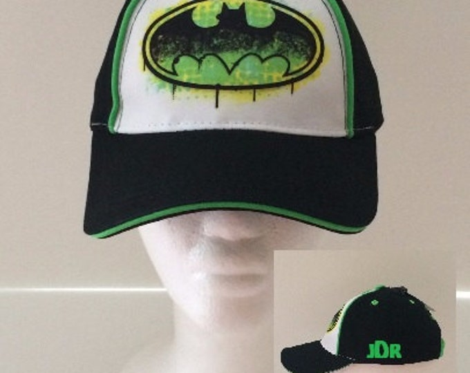 BATMAN Toddler Baseball Cap - Personalized