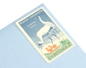 25 Whooping Cranes Stamps - 3c - Vintage 1957 - Unused Postage - Quantity of 25