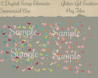 Digital Scrap Pngs  Embellishments  Commercial Use