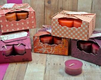Handmade Soy Blend Wax Tea Lights
