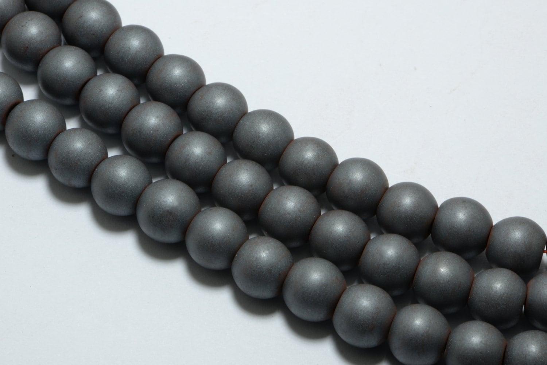 Red Hematite Beads Hematite Round ...