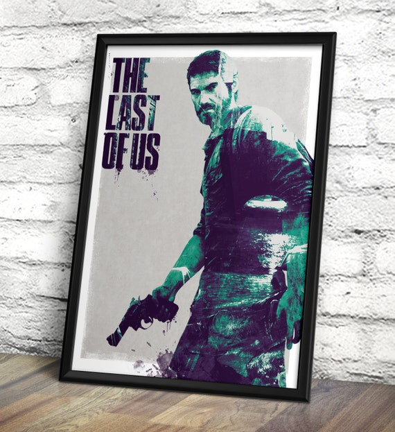 The Last Of Us Inspired Poster - Joel - TLOU Print - The Last Of Us A3 Print