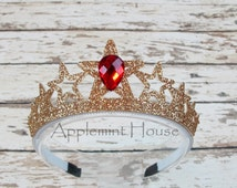 Wonder women Headband/Wonder Women  Crown /Princess glitter crown/Tiara crown/Wonder Woman Gold Tiara/Wonder Women Headband