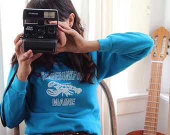 Blue 80's Sweater