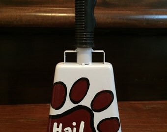 Painted Cowbell: Hail State