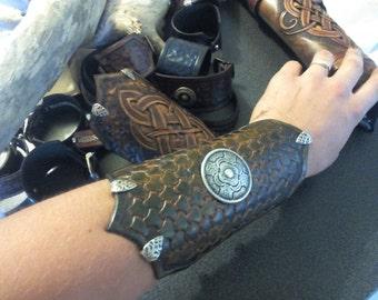 "Medieval bracelet ""Scales of dragon"""