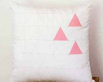 geometric Pillow  cover Triangle LIMITED EDITION
