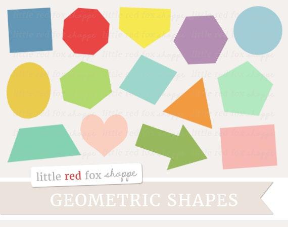 Geometric Shape Clipart Basic Shape Clip Art Label Tag
