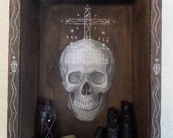 Baron Vodou Art Box. Gede/Ghede/Guede