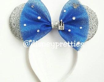 60th Anniversary Diamond Edition Sparkle Minnie Ears. Mickey ears. Minnie ears.