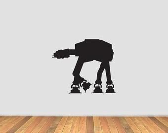 Star Wars AT-AT Walker Vinyl Decal