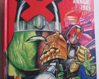 JUDGE DREDD ANNUAL 1984 Fleetway Vintage Comic Book Comic Graphic Novel