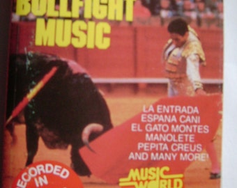 All The Best Of SPANISH BULLFIGHT MUSIC Vintage Audio Cassette Tape