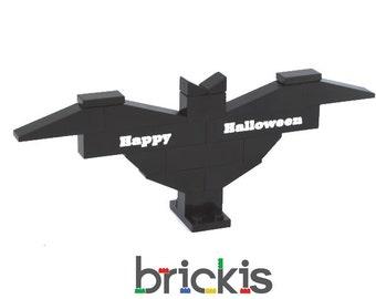 Personalized LEGO® bricks BAT HALLOWEEN engraved