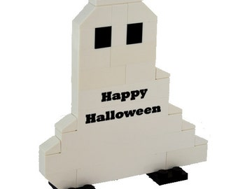 Personalized LEGO® bricks GHOST HALLOWEEN engraved